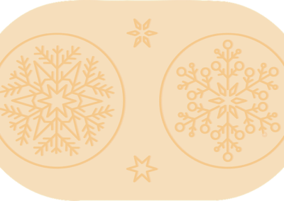 Wafer motif - Snowflake